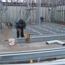 g 02 215x215 - Budowa garażu na samochody specjalistyczne o dużych gabarytach. Realizacja zimą, w na przełomie luty/marzec, czas realizacji - około 4 tygodnie. Garaż 1