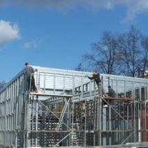 g 04 215x215 - Budowa garażu na samochody specjalistyczne o dużych gabarytach. Realizacja zimą, w na przełomie luty/marzec, czas realizacji - około 4 tygodnie. Garaż 1