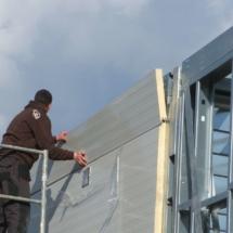 g 05 215x215 - Budowa garażu na samochody specjalistyczne o dużych gabarytach. Realizacja zimą, w na przełomie luty/marzec, czas realizacji - około 4 tygodnie. Garaż 1